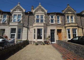 Thumbnail 3 bed terraced house for sale in St. Pauls Road, Weston-Super-Mare
