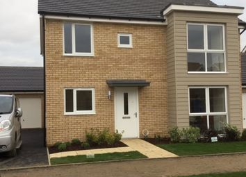 Thumbnail 4 bed detached house to rent in Beaufort Road, Upper Cambourne, Cambridge
