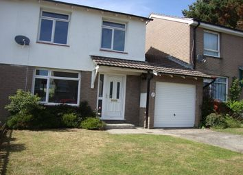 Thumbnail 3 bed property to rent in Woodland Way, Torpoint