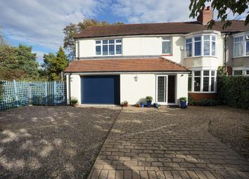 Thumbnail 5 bed semi-detached house for sale in Hutcliffe Wood Road, Beauchief, Sheffield