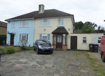 3 bed semi-detached house for sale in Walsh Crescent, New Addington, Croydon CR0