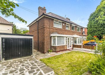 Thumbnail 3 bedroom semi-detached house for sale in Brownley Road, Wythenshawe, Manchester