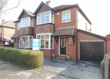 Thumbnail 3 bed semi-detached house for sale in Monfa Avenue, Woodsmoor, Stockport