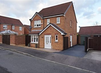 Thumbnail 3 bed detached house for sale in Kingfisher Road, Mansfield