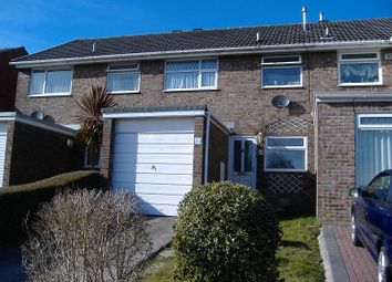 Thumbnail 3 bed property to rent in Cae Bracla, Brackla, Bridgend