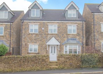 Thumbnail 5 bed detached house for sale in West Dean Close, Queensbury, Bradford
