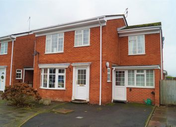 Thumbnail 5 bed link-detached house for sale in Heron Close, Worcester