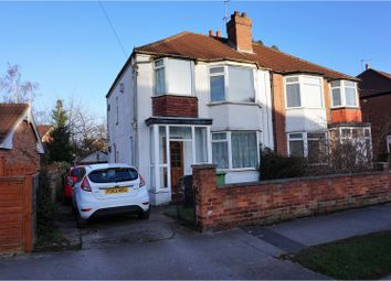 Thumbnail 3 bedroom semi-detached house for sale in Gledhow Park Avenue, Leeds