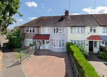 Thumbnail 3 bedroom terraced house for sale in Egham Crescent, Cheam