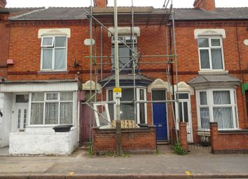 Thumbnail 2 bed block of flats for sale in Loughborough Road, Leicester