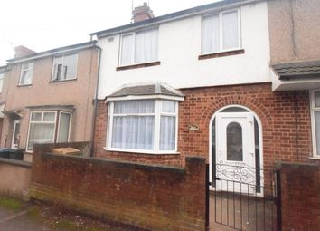 Thumbnail 3 bed terraced house for sale in Elmsdale Avenue, Foleshill, Coventry
