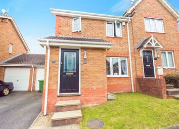 Thumbnail 3 bed semi-detached house for sale in Heol Rhos, Caerphilly