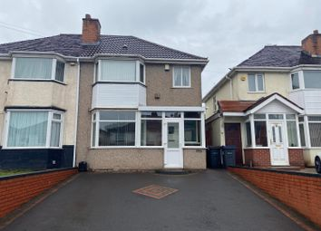 Thumbnail 3 bed semi-detached house for sale in Powick Road, Birmingham