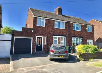 Thumbnail 3 bed semi-detached house for sale in Meadow Way, Macclesfield