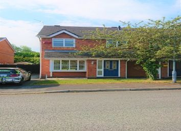 Thumbnail 3 bed semi-detached house to rent in Cherry Dale Road, Broughton, Chester