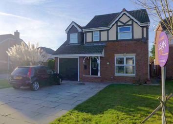 Thumbnail 4 bed detached house for sale in Aston Avenue, Thornton-Cleveleys