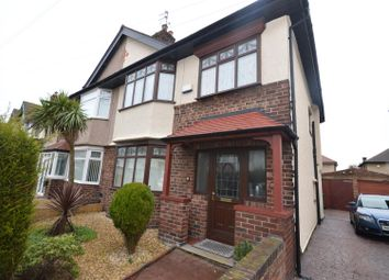 Thumbnail 3 bed semi-detached house for sale in Aysgarth Road, Wallasey