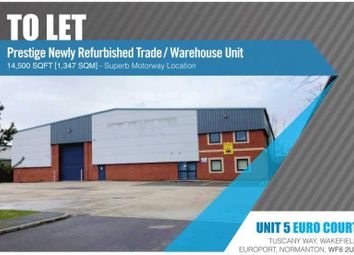 Thumbnail Light industrial to let in Tuscany, Wakefield Europort, Normanton