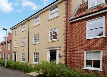 Thumbnail 4 bed town house for sale in Willis Crescent, Ipswich