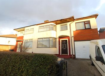 Thumbnail 5 bed semi-detached house for sale in Olive Grove, Huyton, Liverpool