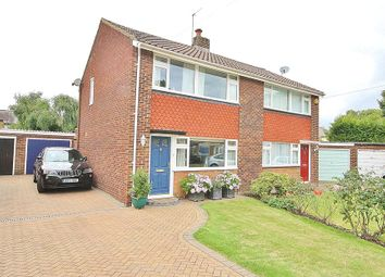 Thumbnail 3 bed semi-detached house for sale in Stratton Road, Lower Sunbury, Surrey