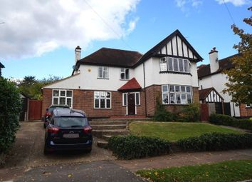 Thumbnail 4 bed detached house to rent in Cuckoo Hill Road, Pinner