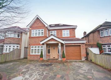 Thumbnail 5 bed detached house for sale in Rushdene Road, Pinner, Middlesex
