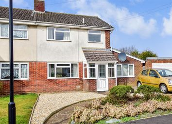 Thumbnail 3 bed semi-detached house for sale in Cooper Road, Newport, Isle Of Wight
