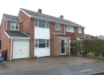 Thumbnail 4 bed semi-detached house for sale in Heronswood Drive, Spondon, Derby