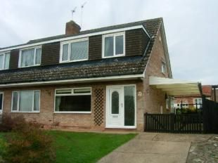 Thumbnail 3 bedroom semi-detached house to rent in St. Giles Way, Cropwell Bishop, Nottingham