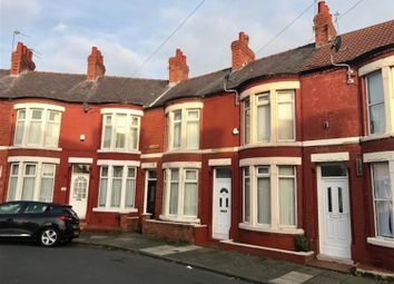 Thumbnail 2 bed terraced house to rent in Hallville Road, Wallasey