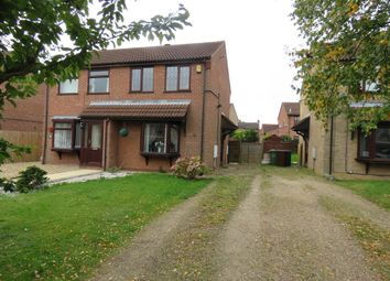 Thumbnail 2 bed semi-detached house to rent in Thurlow Court, Lincoln