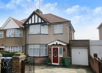 Thumbnail 3 bed semi-detached house for sale in Dunster Drive, London