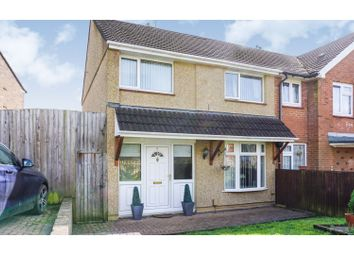 Thumbnail 3 bed semi-detached house for sale in Holst Close, Newport