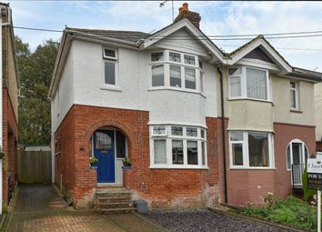 Thumbnail 3 bed semi-detached house for sale in Edward Avenue, Bishopstoke, Hampshire