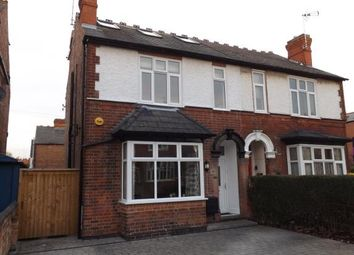 Thumbnail 4 bed semi-detached house for sale in Trent Boulevard, West Bridgford, Nottingham, Nottinghamshire