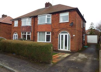 Thumbnail 3 bed semi-detached house for sale in Shelford Avenue, Kirkby In Ashfield, Nottingham, Nottinghamshire