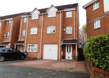 Thumbnail 3 bed town house for sale in Cromwell Avenue, Reddish, Stockport