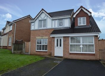 Thumbnail 4 bed detached house for sale in Greendale Drive, Radcliffe, Manchester