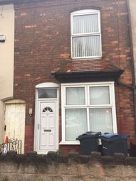 Thumbnail 3 bed terraced house to rent in Redhill Road, Birmingham
