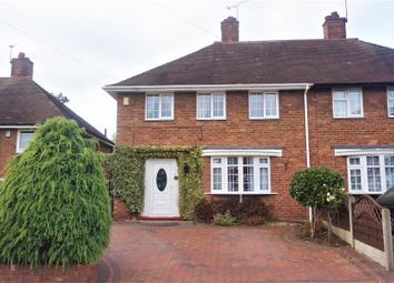 Thumbnail 3 bed semi-detached house for sale in Hollyfaste Road, Birmingham