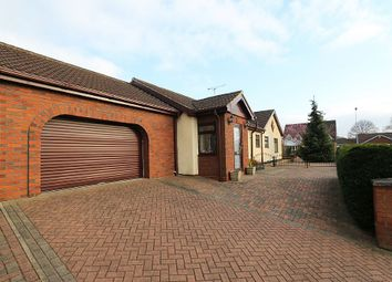 Thumbnail 3 bed detached bungalow for sale in Linnet Close, Scunthorpe, Lincolnshire