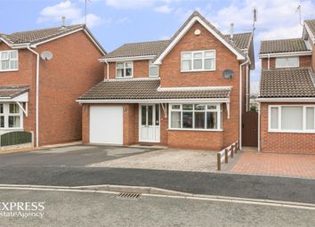 Thumbnail 4 bed detached house for sale in Hellyar-Brook Road, Alsager, Stoke-On-Trent, Cheshire