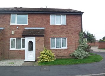 Thumbnail 2 bed terraced house to rent in Abbot Close, Wymondham, Norfolk