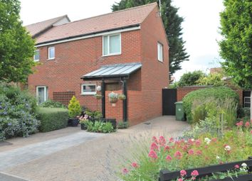 Thumbnail 2 bed end terrace house for sale in Holme Way, Sawston, Cambridge
