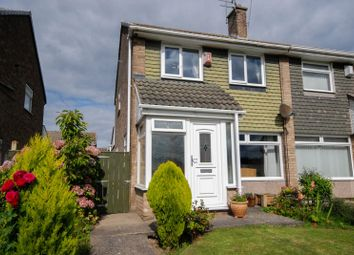 Thumbnail 3 bed semi-detached house for sale in Stephen Court, Jarrow