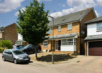 Thumbnail 4 bed detached house for sale in Abinger Drive, Redhill