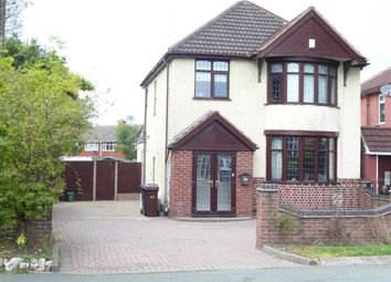 Thumbnail 3 bed detached house for sale in Broad Lane South, Wednesfield, Wednesfield