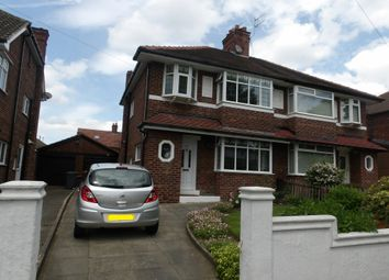 Thumbnail 3 bed semi-detached house for sale in Broxton Avenue, Prenton