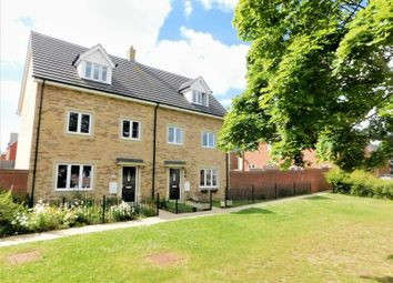 Thumbnail 4 bed town house for sale in Chamberlain Way, New Cardington